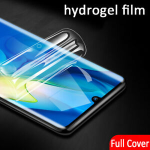 Soft Hydrogel Film For Motorola Moto G5 G6 G7 G8 E6 TPU Front Screen Protector
