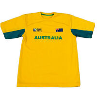 IRB Rugby World Cup 2011 offical Australian Supporters shirt