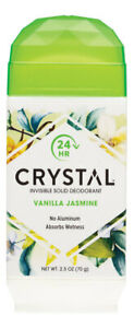Crystal Invisible Solid Deodorant - Vanilla Jasmine 70g