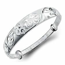 S999 silver bracelets sterling silver female Old Phoenix silver Bangle