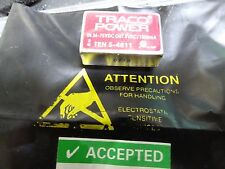 Traco Power TEN-5-4811 5W Isolated DC/DC Converter Vin 36to75 Vdc, Vout 5Vdc 1A