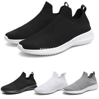 Men's Sports Tennis Running Sneakers Casual Sock Boots Slip On Shoes Loafers