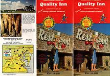 Quality Inn & Johhnny Appleseed Restaurant Shenandoah Valley VA Brochure Photos