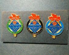 1998 Nagano Winter Olympic Games 3 Pin Lot New Mint Japan Pins Canada CBC Radio