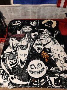 Disney The Nightmare Before Christmas Jack Skellington Blanket Halloween