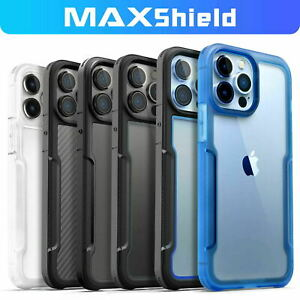 Fr iPhone 13 12 11 Pro XR XS Max 8 Plus Shockproof Rugge Hybrid Clear Case Cover