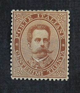CKStamps: Italy Stamps Collection Scott#49 Mint H OG
