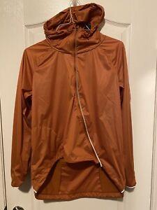 Nike RUNWAY SHIELD Running Jacket Desert Orange CJ5077 802 Women's Sz M Ret $150