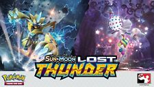 Pokemon: Sun and Moon - Lost Thunder - Rare Card and Reverse Holo Singles