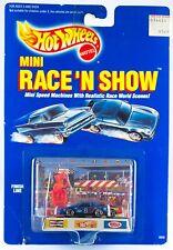 Vintage Hot Wheels Mini Race 'N Show Finish Line New On Card 1989