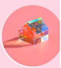 Aurora Cabin Light Cube Prism K9 Optical Crystal Glass Creative Birthday Gift