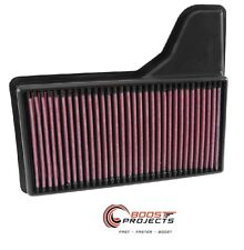 K&N Air Filter 15-16 FORD MUSTANG GT 5.0L / 3.7L V6 / 2.3L L4 / 33-5029