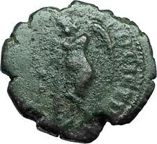 SEPTIMIUS SEVERUS 193AD Nicopolis ad Istrum Ancient Roman Coin THANATOS i66358