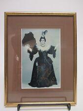SIGNED Marilyn Horne AUTOGRAPHED Framed Isabella Poster / Classical Opera Singer