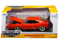 JADA 97682 1969 69 DODGE CHARGER DAYTONA 1/24 DIECAST MODEL CAR RED