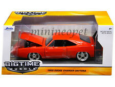 JADA 97682 1969 69 DODGE CHARGER DAYTONA 1/24 DIECAST MODEL CAR RED