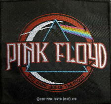 PINK FLOYD PATCH / AUFNÄHER # 24 DISTRESSED DARK SIDE OF THE MOON - 10x9cm