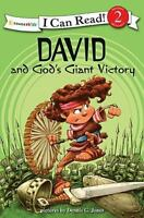 David and God's Giant Victory: Biblical Values [I Can Read! / Dennis Jones Serie