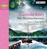 LUCINDA RILEY - DIE STURMSCHWESTER: DIE SIEBEN SCHWESTERN 2 CD NEW