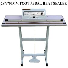 "28""/70CM/700MM FOOT PEDAL IMPULSE HEAT SEALER MACHINE FOR HEAVY DUTY+SPARE PARTS"