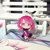 Anime Keychain Strap Keyring Acrylic Gakkou Gurashi! SCHOOL-LIVE! Takeya Yuk 6cm
