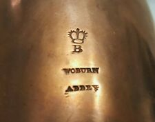 More details for antique victorian copper jelly mould, provenance: duke of bedford, woburn abbey.