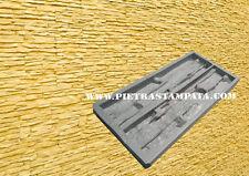 Decorative Concrete Cement Stamp Mat Wall Veneer Stone Polyurethane Mold
