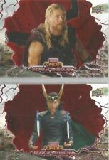 Thor Ragnarok - RED PARALLEL 50 Card Complete Base Set