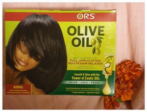 ORS Olive Oil No-Lye Normal Strength Relaxer Kit - Australia stock