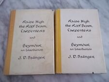 Raise High The Roof Beam by J.D. Salinger, 1st Edition US & 1st British BOTH!
