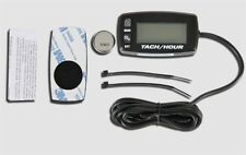 Resettable Inductive Tacho Hour Meter for 2/4 Stroke Gasoline Engine Motorcycles