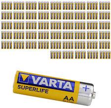Pila zinc carbono Varta LR6 ( AA ) Superlife (4 monedas)