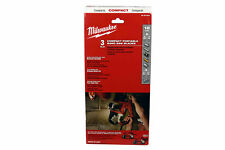 Milwaukee 48-39-0529 18 TPI Compact Portable Band Saw Blade (3-Pack)