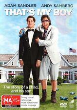 That's My Boy (DVD, 2012) - New/Sealed