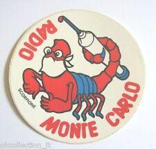 ADESIVO RADIO / Sticker / Autocollant _ MONTE CARLO ZODIACO SCORPIONE (cm 9)