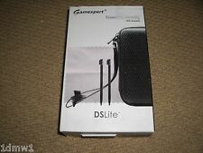 NINTENDO DS LITE ACCESSORY PACK CONSOLE CASE HOLDER STYLUS Black BRAND NEW