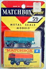 "Matchbox RW 02D Mercedes Trailer Blisterpackung ""F"" Box"