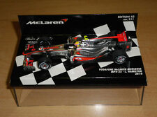 F1 HAMILTON MCLAREN MERCEDES MP4/25 2010 1/43 MINICHAMPS MC LAREN