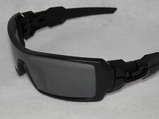 *NEW* OAKLEY OIL RIG IN MATTE BLACK WITH BLACK IRIDIUM LENS 03-464