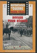 DVD DOCUMENTAIRE--REPORTAGES DE GUERRE 1939-1945 VOL 3--OFFENSIVES HITLER/CAPRA