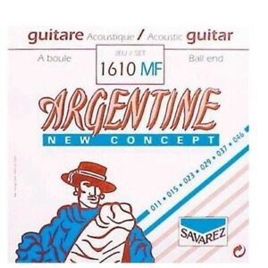 Savarez Argentine 1610MF Light Ball End Gypsy Jazz Guitar Strings 011 - 046