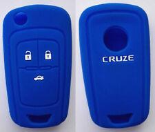 BLUE HOLDEN CAR FLIP KEY COVER CASE FOR CHEVROLET COLORADO AVEO CRUZE