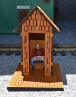 G-SCALE LASER CUT OUTHOUSE KIT