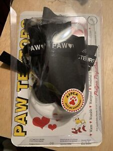 PAW TECTORS Dog Booties by Pedigree Perfection Waterproof NEW in Pkg. Size XS/TP