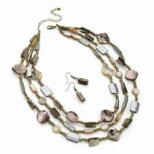 Natural Glass Costume Jewellery Sets
