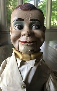 Antique Jimmy Nelson Danny O'Day Ventriloquist DummyVentriloquism Puppet MCM