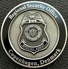 DSS - Diplomatic Security Service COPENHAGEN FirstGEN 1.75in  challenge coin
