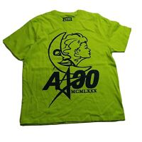 AKOO 100%authentic Mens S/S Tshirt Size large green logo