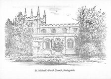 BR92347 st michael s parish church basingstoke postcard   uk