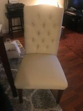 Tufted Dining Chair (Set of 4) (Beige)
